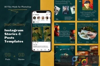 Just Gallery – Instagram Stories & Posts 9PS45DY 2
