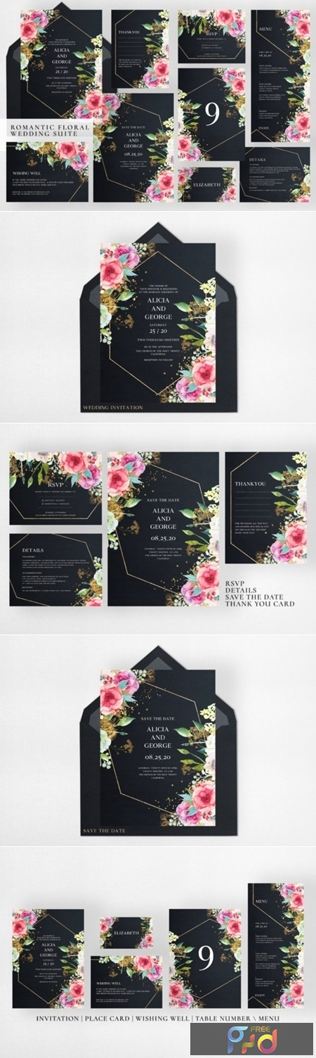 Romantic Floral Wedding Suite 1997061 1