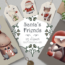 Santa's Friends Christmas Clipart 1997125 11