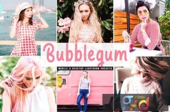 Bubblegum Mobile & Desktop Lightroom Presets AR6PAUE