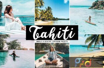 Tahiti Mobile & Desktop Lightroom Presets MRVR93S 7