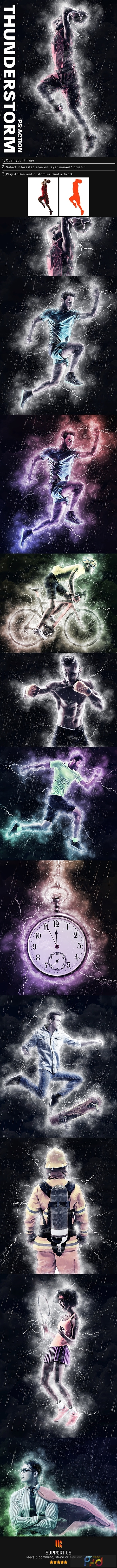 Thunderstorm Photoshop Action 25009367 1