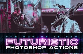 Futuristic Photoshop Actions 24885642 2