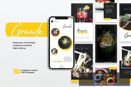 GRANDE Restaurant Instagram Stories YA6U7B6 1