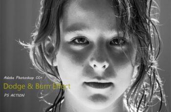 Dodge & Burn Effect Photoshop Action 2013337 5