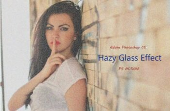 Hazy Glass Effect - Ps Action 2013722 2