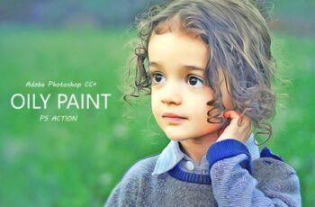 Oil Paint Effect - Ps Action 2013688