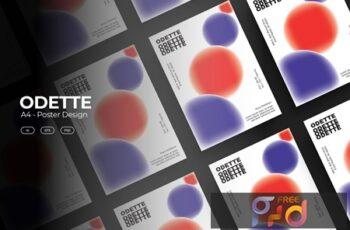 ODETTE Poster Design Template B9A5XJL 4