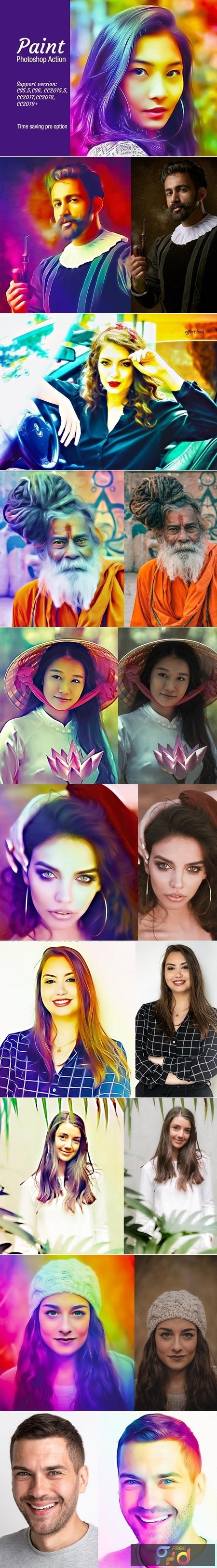 Paint Photoshop Action 4282854 1