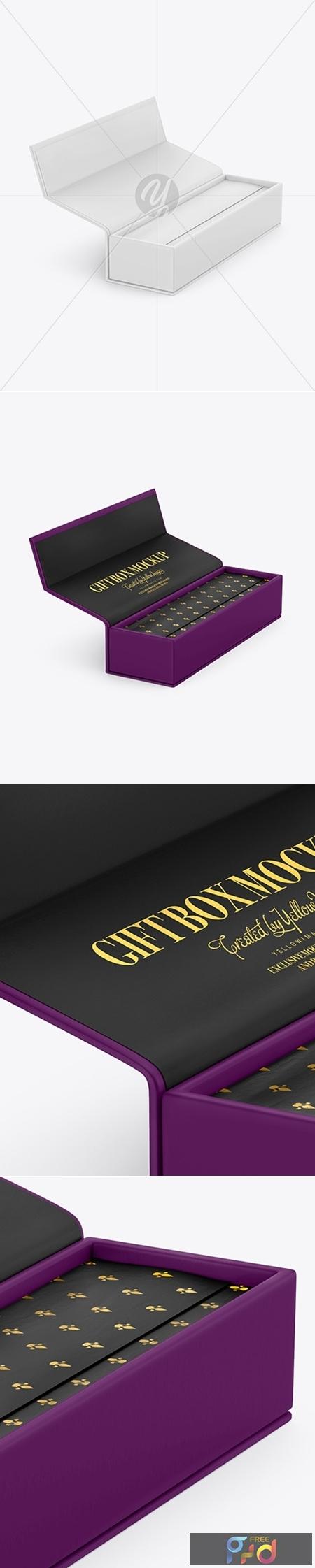 Opened Matte Box Mockup 51616 1