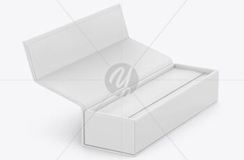 Opened Matte Box Mockup 51616 10