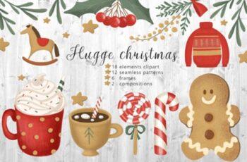 Hugge Christmas Illustrations 1996799 4