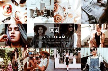 VSCO A4 Lightroom+ACR Presets Pack 4282474