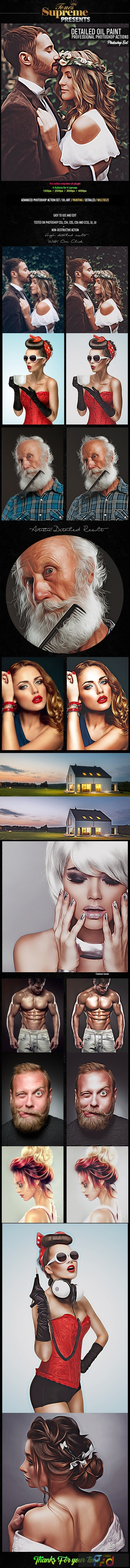 Detailed Oil Painting Photoshop Actions 24722683 1