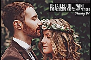 Detailed Oil Painting Photoshop Actions 24722683 2