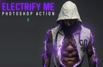 Electrify Me Photoshop Action II 24760014