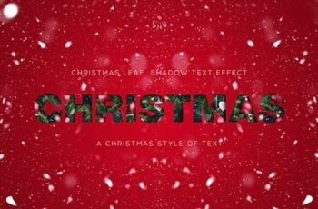 Christmas Text Effect 24923621 7