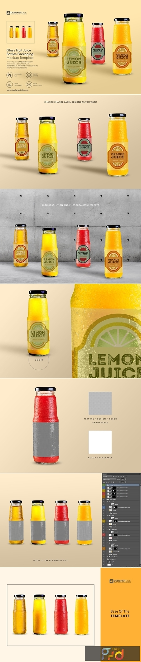 Fruit Juice Glass Container Mockup 4138030 1