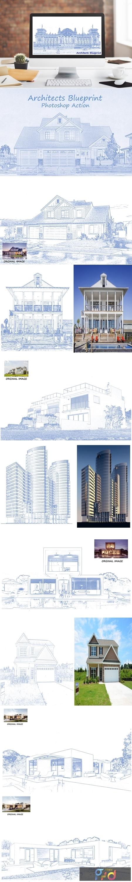 Architects Blueprint - PS Action 4113879 1
