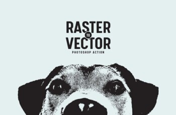 Raster to Vector Photoshop Action 3742749 5