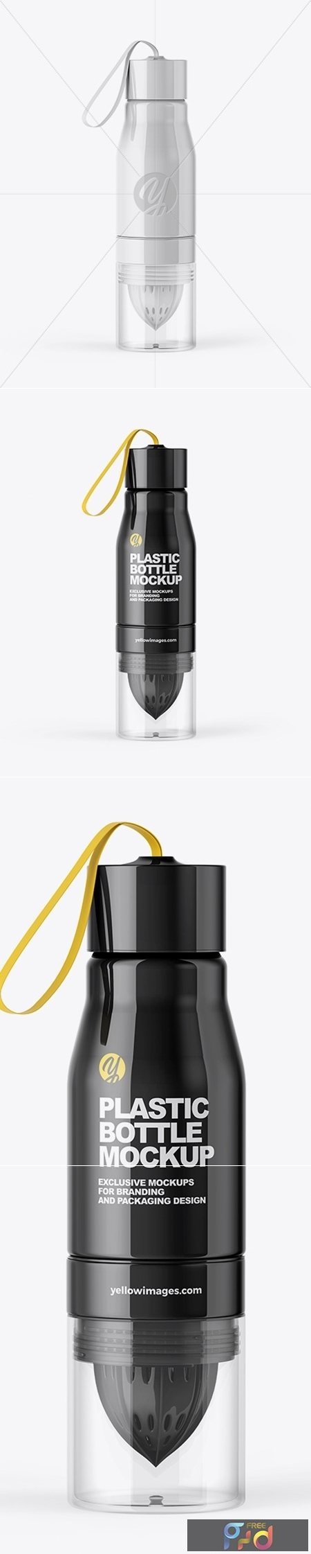 Glossy Water Bottle Mockup 51571 1