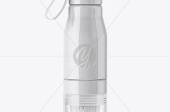 Glossy Water Bottle Mockup 51571 2