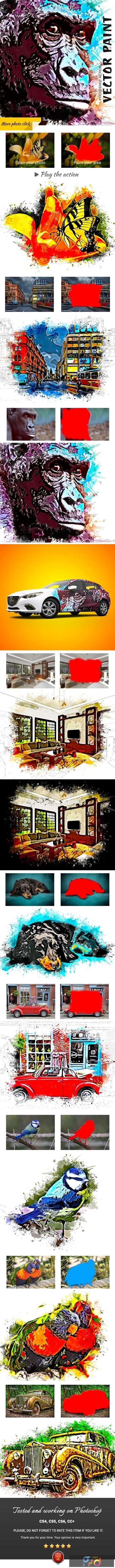 Vector Paint Photoshop Action 24755197 1