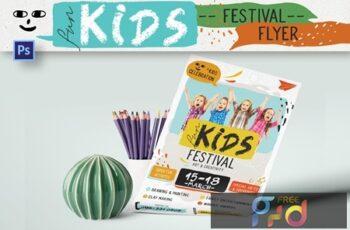 Fun Kids Festival Flyer GRJVJRX 1