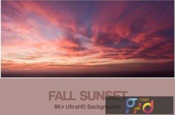 8K+ UltraHD Fall Sunset Backgrounds 2354QKU 5