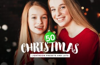50 Christmas Lightroom Presets LUTs 4315283 4
