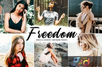Freedom Mobile & Desktop Lightroom Presets BLCHN2N 5