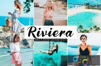 Riviera Mobile & Desktop Lightroom Presets JM4R9SW 8