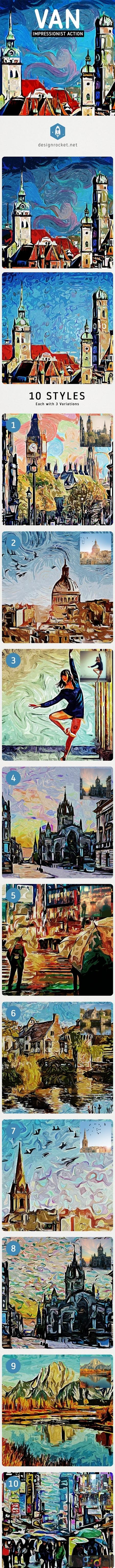 VAN - Impressionist Painting Action 24971875 1
