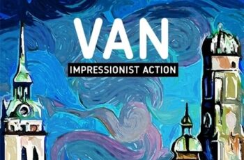 VAN - Impressionist Painting Action 24971875 2