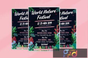Natur Festival Flyer TJKJ425 8