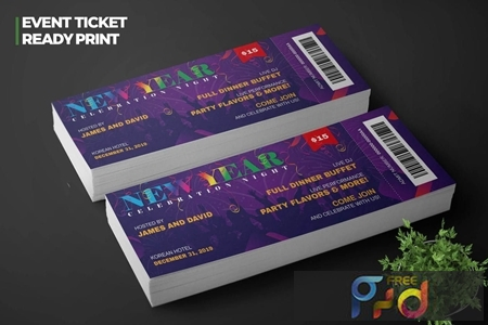 New Year Event Ticket Pro NYM5BNP 1