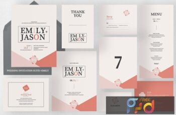 Wedding Invitation Suite - Emily 4