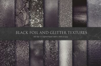 Black Foil and Glitter Textures 3329736 10