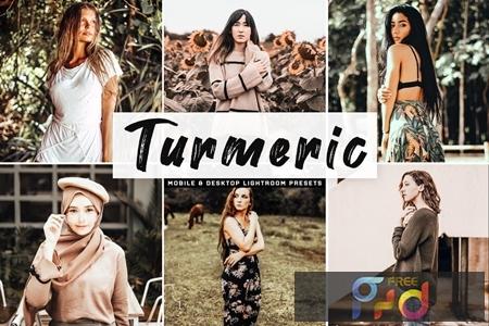 Turmeric Mobile & Desktop Lightroom Presets APTWWBU 1