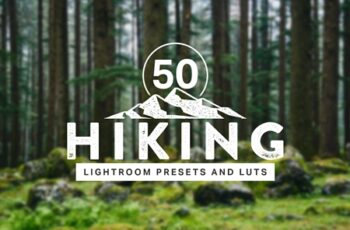 50 Hiking Lightroom Presets and LUTs 4319189 5