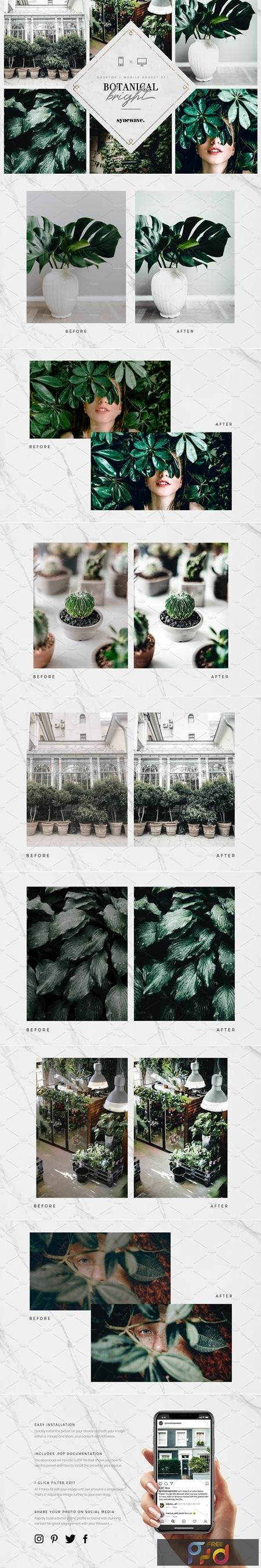 10 Botanical Lightroom Presets 3610687 1