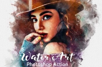 Water Art Photoshop Action 24972587 5