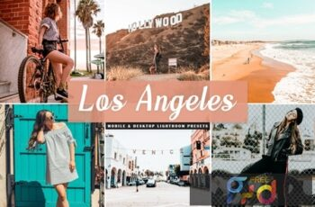 Los Angeles Mobile & Desktop Lightroom Presets WBBHJXW 6