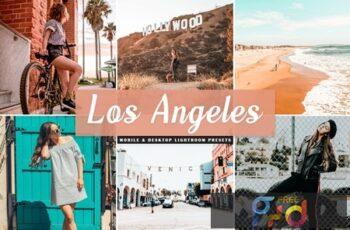 Los Angeles Mobile & Desktop Lightroom Presets WBBHJXW 8