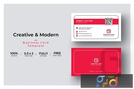 Business Card LC46P8N 1