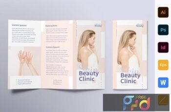 Skin Beauty Clinic Brochure Trifold 9T6BJMM 8