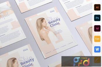 Skin Beauty Clinic Flyer E2GQHQY 4