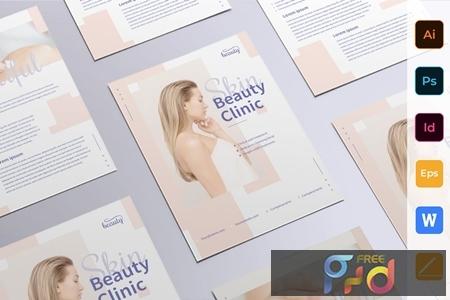 Skin Beauty Clinic Flyer E2GQHQY 1