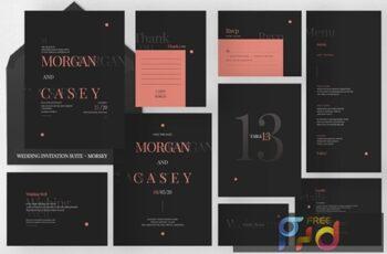 Wedding Invitation Suite - Morsey UW5Z2F7 5