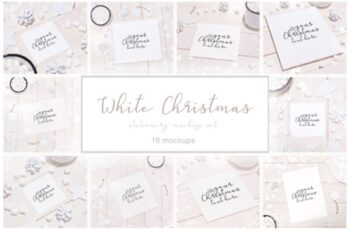 White Christmas 18 Stationery Mockups 2007381 14